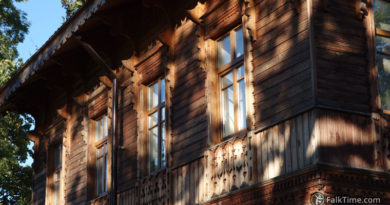 Russian wooden architecture