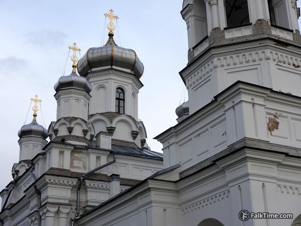 Domes of St. Alexandra's church