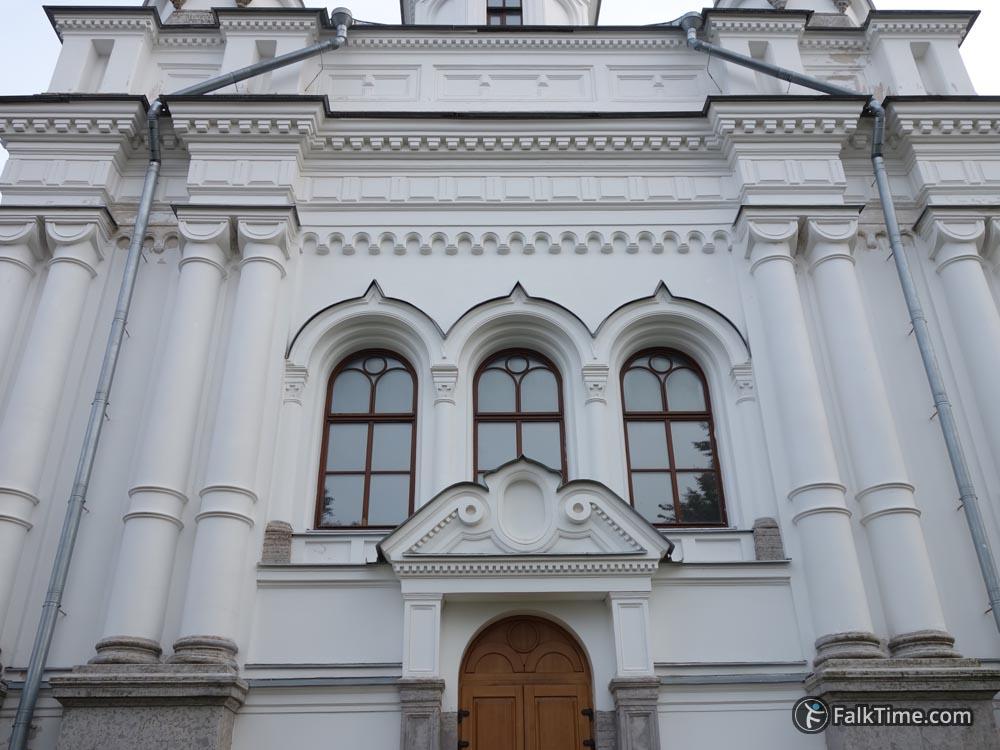 Facade of St. Alexandra's church