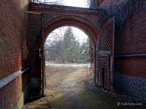Gate at gardeners' house #2