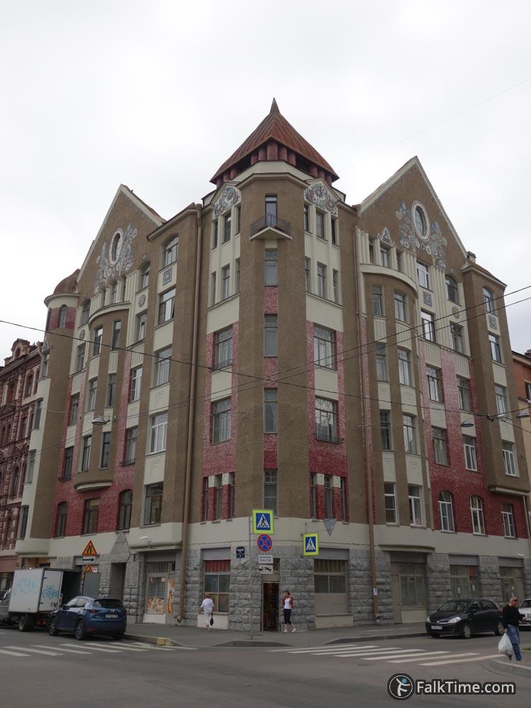 Zakharov revenue house
